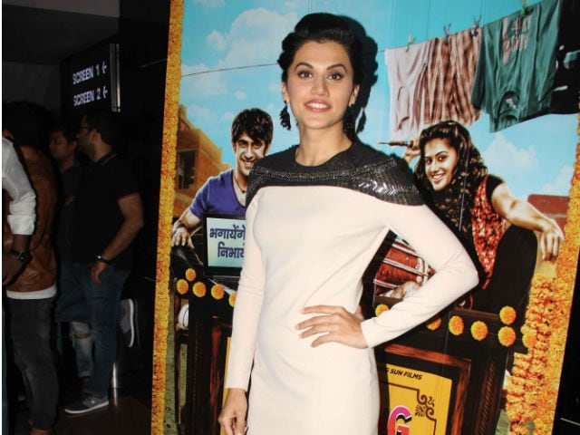 Taapsee Pannu Says It's