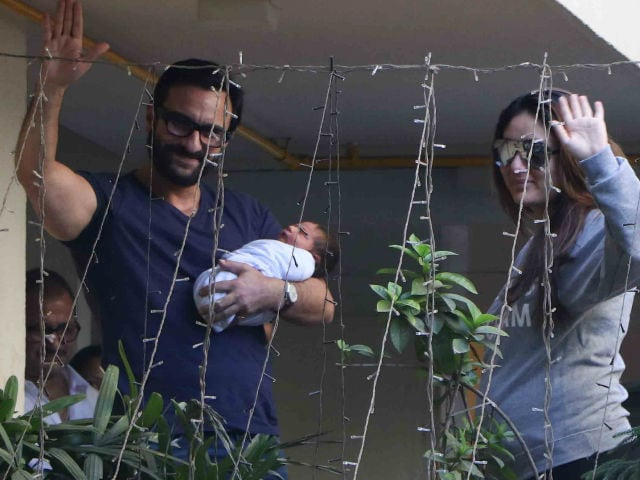 Saif Ali Khan Revisits Controversy Over Taimur's Name. Meanwhile, A Pic Is Viral