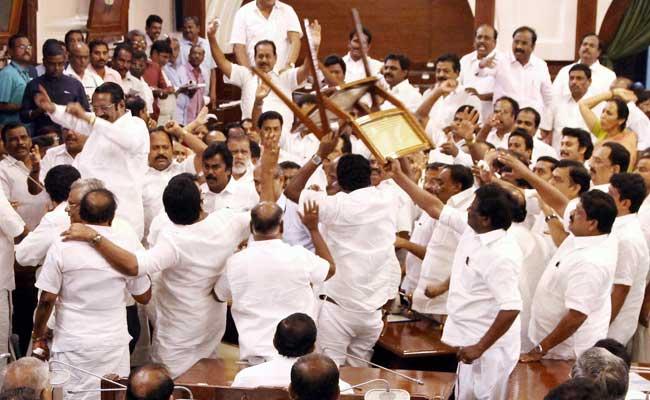 tamil nadu assembly trust vote pti