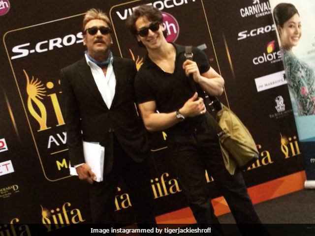 Tiger's Birthday Wish For Father Jackie Shroff: