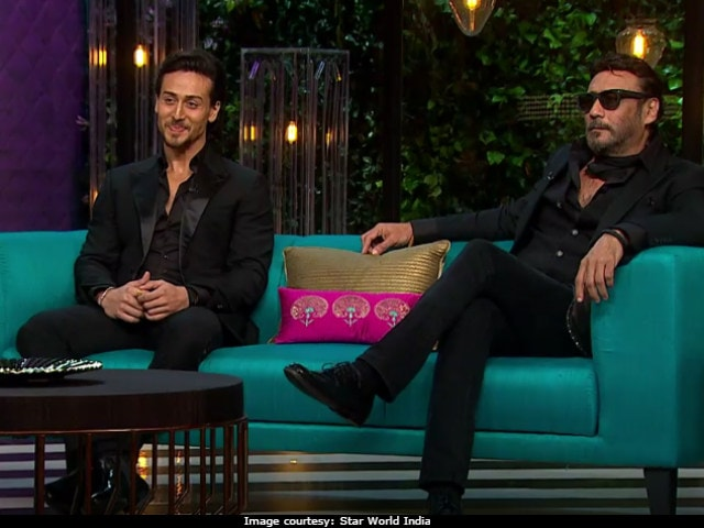 Tiger Shroff Pays Tribute To Father Jackie Shroff In Munna Michael Song Ding Dang