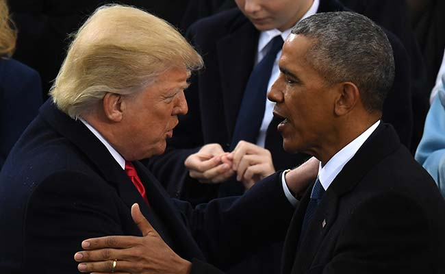 Donald Trump Accuses Barack Obama Of 'Tapping' His Phones During Election Campaign