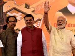 As Shiv Sena Mayor Takes Over, BJP's Reminder With Chants Of 'Modi, Modi'
