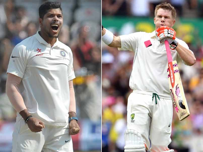 India vs Australia, Face-Off: Umesh Yadav vs David Warner
