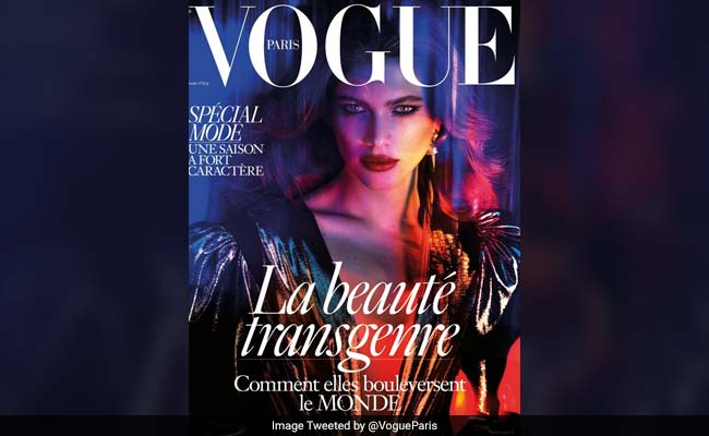 In A First, Vogue Paris Features Transgender Cover Model