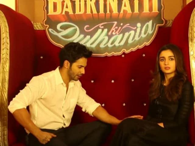 Badrinath Ki Dulhania, The Only Film Varun Dhawan 'Hasn't Touched The Heroine' Alia Bhatt