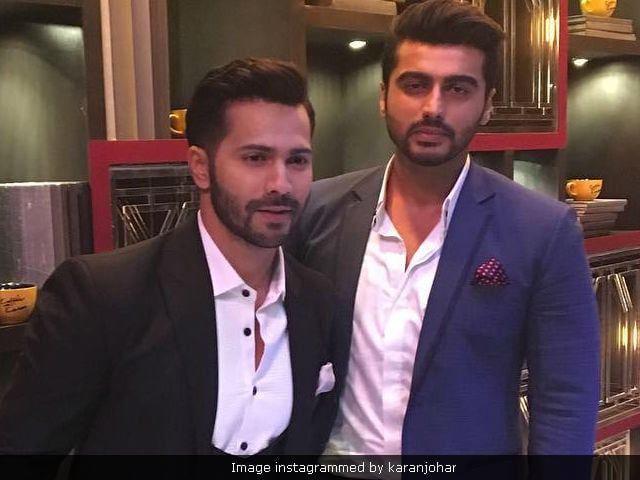 Varun Dhawan And Arjun Kapoor's Bromance Is All Over Twitter