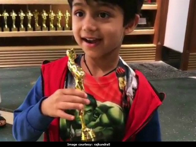 Please Give Shilpa Shetty's Son, 4, An Oscar. He Has A Speech Ready