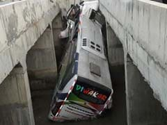 8 Dead, 30 Injured After Bus Plunges Into Canal In Andhra Pradesh