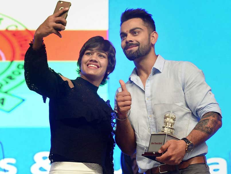 Virat Kohli Inspires India's Athletes With Stirring Address in Mumbai