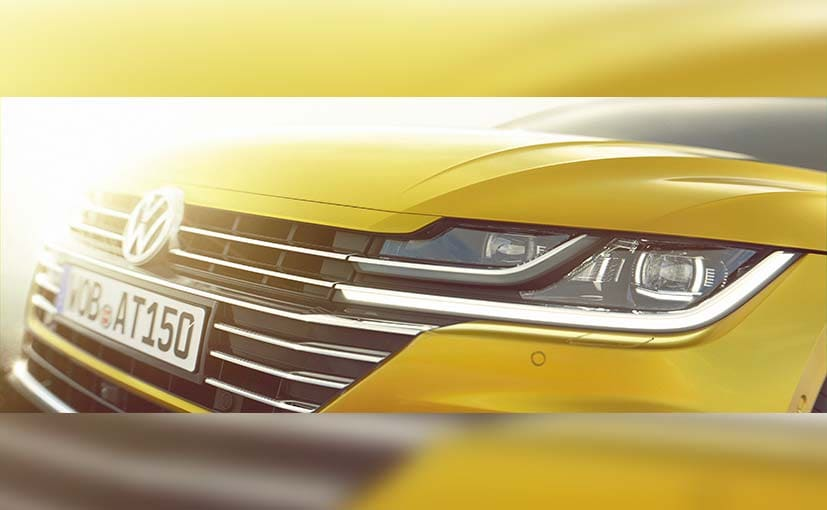 Vollkswagen Arteon Teased Ahead Of Geneva Motor Show Debut