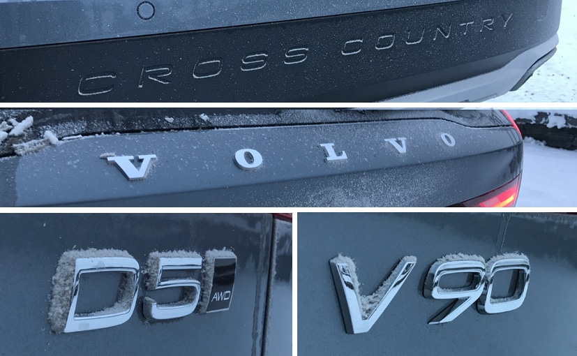 volvo v90 cross country badges