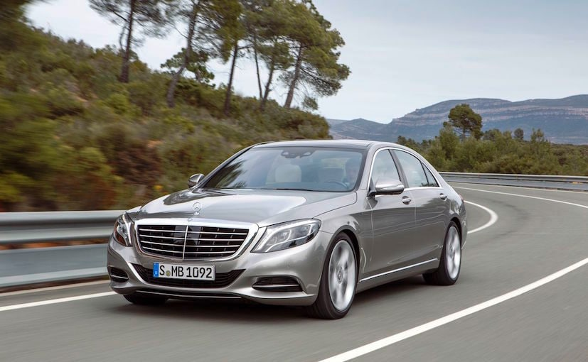 Mercedes benz s class facelift global reveal in may india for Mercedes benz s550 oil change