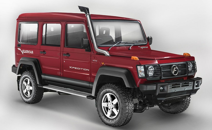 2017 force gurkha 5 door