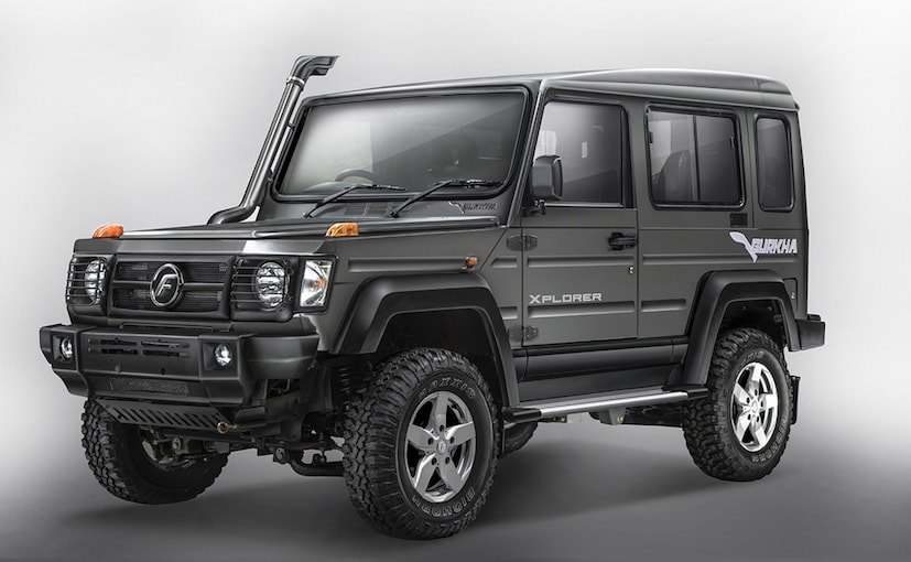 2017 Force Gurkha With BS-IV Compliant Engine Launched; Prices Start At &#8377 8.38 Lakh