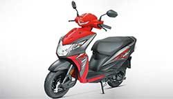 2017 Honda Dio Launched In India; Priced At Rs. 49,132