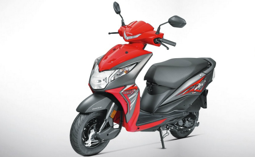 2017 Honda Dio Launched In India; Priced At ₹ 49,132