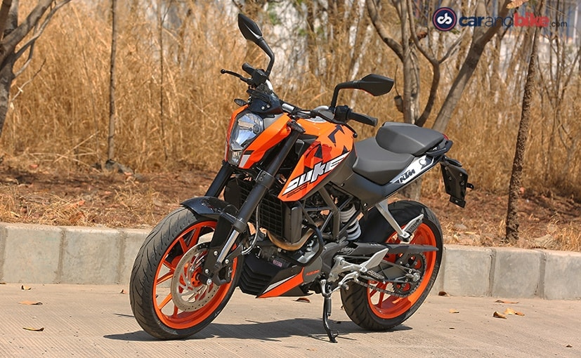 2017 ktm 200 duke first ride review - ndtv carandbike