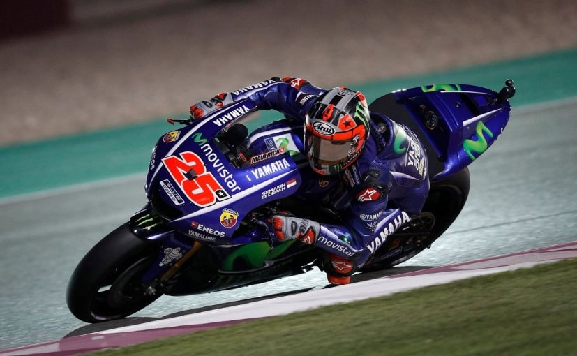 motogp 2017 maverick vinales takes the pole in the wild wet qatar gp rossi finishes third. Black Bedroom Furniture Sets. Home Design Ideas