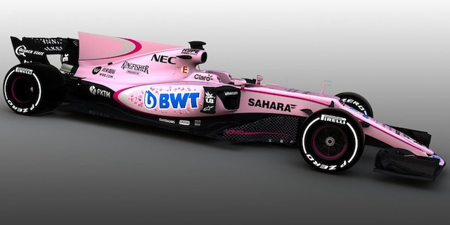 Sahara Force India 2018 F1 season car launched