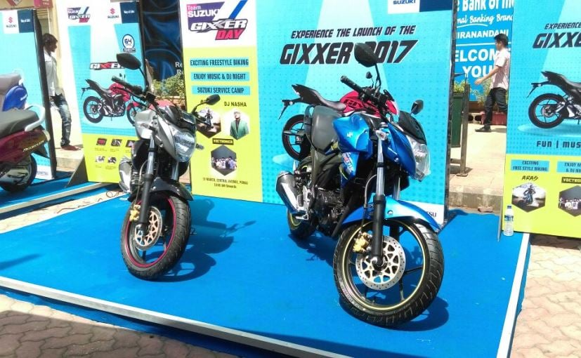 Suzuki Motorcycle India Sales Grow By 52% In May 2017
