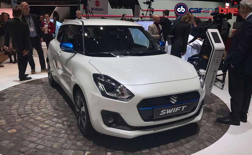 new car launches in hindiGeneva Motor Show 2017 New Gen Maruti Suzuki Swift Debuts India