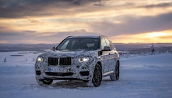 2018 BMW X3 Officially Teased In New Images During Cold Weather Testing
