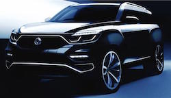 Next-Generation SsangYong Rexton Revealed In Official Sketches