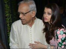 Aishwarya Rai Bachchan's Father Krishnaraj Rai Dies In Mumbai Hospital