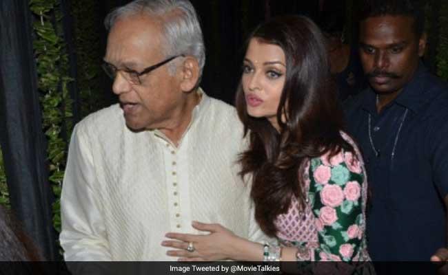 ऐश्वर्या राय बच्चन के पिता कृष्णराज राय का मुंबई के अस्पताल में निधन