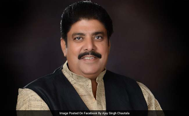 Ajay Chautala Granted 3-Week Parole For Son's Wedding