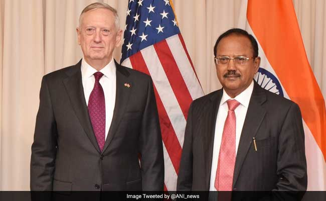 Defense Secretary Meets With Indian National Security Adviser