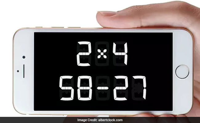 This Clock Won't Tell You The Time - Unless You Solve A Maths Problem