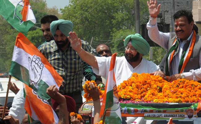 Punjab Election Results 2017: PM Modi Congratulates Amarinder Singh On Poll Win