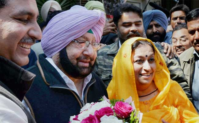 Punjab Election Results 2017: On 75th Birthday, Captain Amarinder Singh Wins Punjab, AAP Didn't Even Come Close