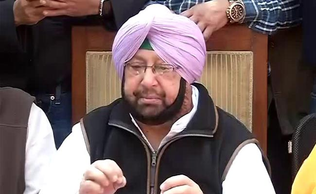 'Chandigarh Belongs To Punjab': Amarinder Singh Rejects Haryana's Plan
