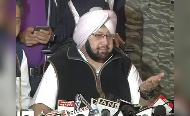 Amarinder Singh Asks Centre To Take Up Security Of Indians With US