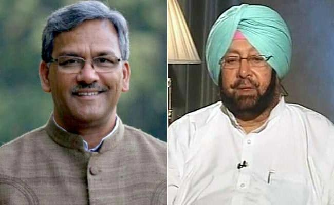Punjab and Uttarakhand Chief Ministers To Call On PM Narendra Modi, President Pranab Mukherjee Today