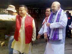 Manipur Elections 2017: To Take On Congress, Amit Shah's Door-To-Door Campaign
