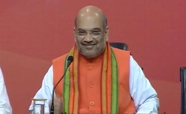 Amit Shah To Address BJP's Mega Convention In Delhi Tomorrow
