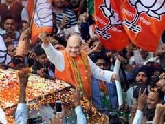 UP चुनाव परिणाम : BJP अध्यक्ष अमित शाह ने वोटिंग मशीन से छेड़छाड़ के मायावती के आरोप पर कुछ यूं ली चुटकी...