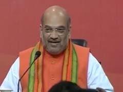विधानसभा चुनाव: अमित शाह बोले-यूपी समेत 4 राज्यों में बनेगी BJP की सरकार, अमेठी-रायबरेली में जीत को बताया आनंद का पल
