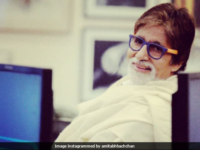 Amitabh Bachchan Records In Late Composer Aadesh Shrivastava's Studio
