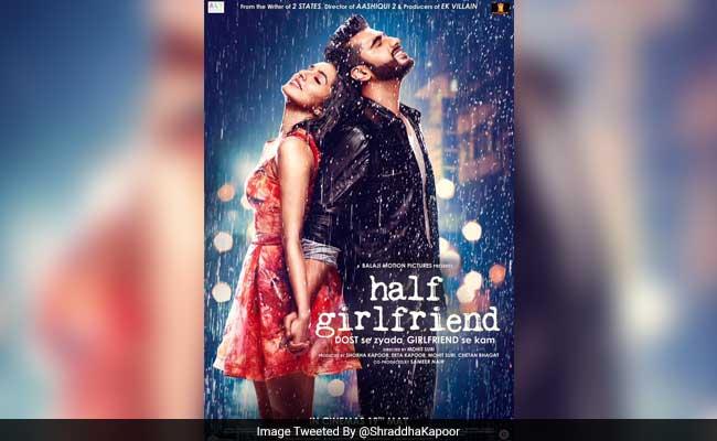 Half Girlfriend पोस्टर: अर्जुन कपूर के लिए दोस्त से ज्यादा पर गर्लफ्रेंड से कम हैं श्रद्धा कपूर