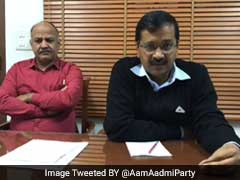 Don't Lose Heart, Keep Fighting: Arvind Kejriwal Tells Aam Aadmi Party Volunteers