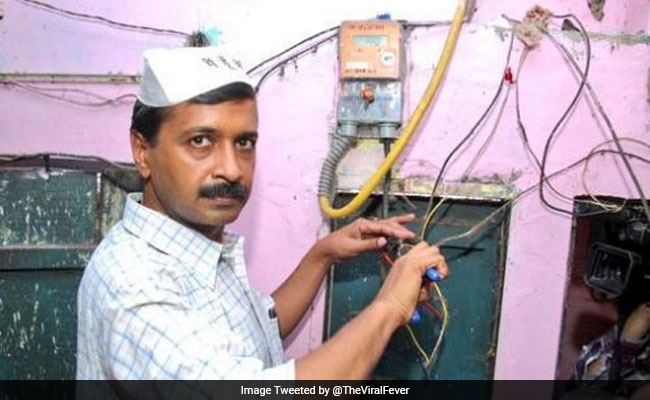 Viral tweets: चुनाव परिणाम देख बिजली 'कनेक्शन काटने' पहुंचे अरविंद केजरीवाल!