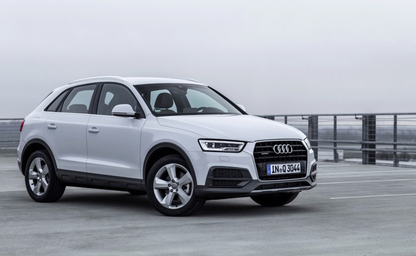 2017 audi q3 launched in india prices start at rs 34 2. Black Bedroom Furniture Sets. Home Design Ideas