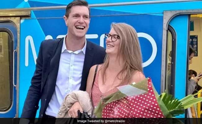 Australian Man Pulls Off Surprise Wedding Proposal With Help Of Metro Train Driver