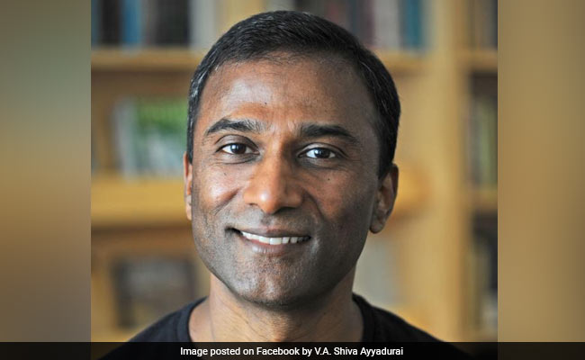 Indian-American Shiva Ayyadurai Challenges Democratic Icon Elizabeth Warren In US Senate Race