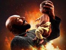 <i>Baahubali 2</i> New Poster: Katappa, Baahubali And The Cliffhanging Moment